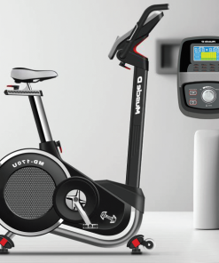 UPRIGHT EXERCISE BIKE photograph