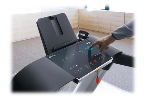 Compact treadmill, small treadmill, light treadmill screen