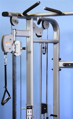 functional trainer, dual adjustable pulley